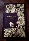 Easton Press ROMEO AND JULIET William Shakespeare NEW unsealed Full Leather Book