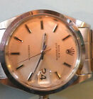 Mens Vintage ROLEX Oyster Date Precision 6694 Stainless Steel Watch 1967