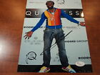 WYCLEF JEAN - SIGNED AUTHENTIC The Fugees Hip Hop 8X10 PHOTO - JSA H84941