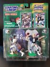 1998 Starting Lineup Football Classic Doubles Emmitt Smith Troy Aikman EXC!