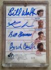 2010-11 UD SP AUTHENTIC SIGN OF THE TIMES QUAD AUTO RUSSELL WESTBROOK 1 2 1 1
