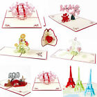 Wedding Invitation Letter 3D Card Envelopes Seals Custom Personalized Printing