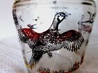 Hazel Atlas 1950's Pheasant 64 Ounce Pitcher Mostly Red And Gold In Color