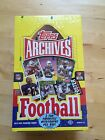 2013 Topps Football Archives Factory Sealed Hobby Box - FREE SHIPPING