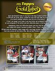 2016 Topps Gold Label Factory Sealed Hobby Box - Presell Releases 10-12-16