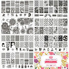 Nail Art Stamp Stamping Plate Template Image Manicure BORN PRETTY L Series