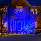 Lightshow LED Projection Kaleidoscope Christmas Lights, Icy Blue  Outdoor