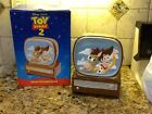 MIB Disney TOY STORY COOKIE JAR Woody Bullseye Horse Television Treasure Craft