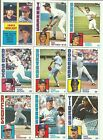 1984 Topps Hand Collated Set. Nm!