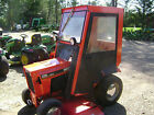 Case Ingersoll 226 with 44 Mower 38 Snow Thrower and Cab Very Clean Tractor