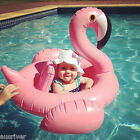 Inflatable Swan Flamingo Ride on Pool Float Raft Summer Water Toy for Baby Kids