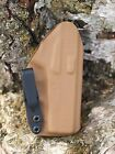 Kydex IWB holster for Ruger LCR 38 Coyote Brown InvisiHolsters