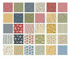 Benartex Fabrics Jelly Roll 40pcs of 25 x 42 Cotton Strips Bandana Florals