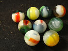 Vintage Vitro marbles Various with some Helmets