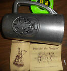 VINTAGE PLANTERS MR PEANUT ADVERTISING WILTON ARMETALE PEWTER BEER ALE BELL MUG