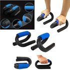 PUSH UP BARS HOME EXERCISE STAND FOAM GRIP PULL PRESS GYM FITNESS FOR CHEST ARMS