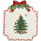 New Spode Christmas Tree Canape Plate