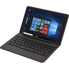 TABLET LAPTOP Computer Convertible 2 in 1 Windows 10 Keyboard PC 32 GB Black