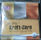 Metallic Collection 6x6 Tim Holtz Kraft Core Cardstock Paper by Coredinations