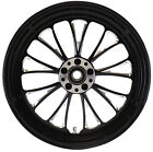MANHATTAN REAR BLACK WHEEL 16 X 3.5 HARLEY ROAD GLIDE FLTR FLTRI 2002-2007