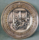 CO  C 1876 FINE LARGE SILVERPLATED CHARGER BY ARTIST:MOREL LADEUIL