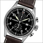 Junkers 42mm Swiss Quartz Two-Eye Chronograph with Sapphire Crystal #6178-2