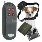 4in1 Remote Pet Dog Training Shock Vibrate Collar Pet Trainer For Small Med Dog