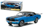 Greenlight 1 18 Scale 1967 Blue Ford Mustang Coupe Ski Country Diecast Car 12965