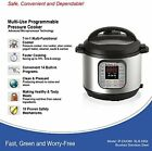 Instant Pot 7 in 1 Programmable PRESSURE COOKER 6 Qt Electric PRESSURE Rice All