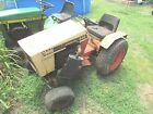 CASE 446 GARDEN TRACTOR WITH THREE POINT HITCH PLOW AND MOWER DECK