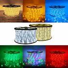150 300 Ft Xmas LED Rope Light 110V Christmas Home Party Decorative In Outdoor