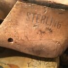 Vintage Wooden Shoe Molds THIS IS A LARGE LOT OF 12 SHOES  stamped/ 1 With Date