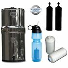 Travel Berkey Water Filter System, w/2 Black Filters, 2 Fluoride