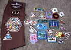 Lot of Vintage Girl Scout Patches Sash Pins Penn Lakes Council 732