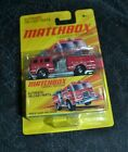 2010 MATCHBOX LENSEY EDITION PIERCE DASH FIRE ENGINE RARE VHTF