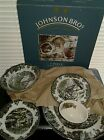 NEW Never Used 19 Piece Johnson Brothers Friendly Village China Set - FAST SHIP!