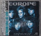EUROPE OUT OF THIS WORLD JAPAN CD OBI VERY RARE PICTURE DISC OOP
