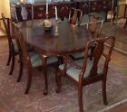 Kling Colonial Solid Cherry Traditional Queen Anne Style Dining Table and Chairs