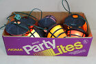 Noma Vintage Patio Party RV Tiki Lights Retro Asian Paper Lantern Light String