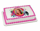 Trolls Party Animal image your photo custom frosting cake topper 7821