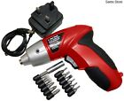 Rechargeable Screwdriver Tools Set Small Electric Handheld Compact Cordless DIY