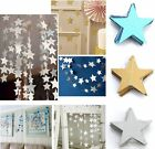 Stars Hanging Paper Garlands Wedding Party Birthday Baby Shower Table Decoration