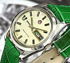 Rare! 25 Jewels Rado Green Horse 1970's Ss Automatic Swiss Made Men's Watch