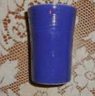VINTAGE FIESTA WARE COBALT BLUE SMALL WATER TUMBLER 3 1/2 INCHES