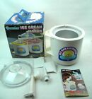 Donvier Ice Cream Maker Chillfast **2 pint** ( white)