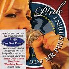 PINK DEAR MR PRESIDENT  RARE ISRAELI PROMO CD FROM THE ALBUM I'M NOT DEAD YET