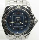 Breitling Windrider Cockpit Lady's Factory Diamond Blue Dial A71356