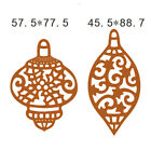 Metal Cutting Dies Decor Stencil Scrapbook Template Card Embossing Crafts Gifts