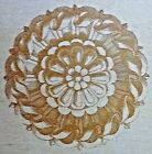 NEW LARGE ORNATE MEDALLION RUBBER STAMP ALL NIGHT MEDIA ANNA GRIFFIN 580J02