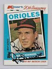 1982 TOPPS K-MART BROOKS ROBINSON SIGNED AUTOGRAPHED BALTIMORE ORIOLES
